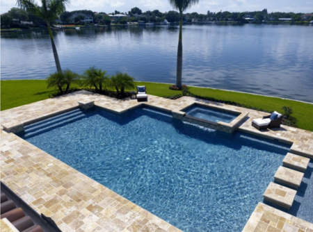 Picture for category TRAVERTINE PAVERS