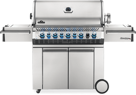 Picture of Prestige PRO™  665 with Infrared Read and Side Burners - Natural Gas