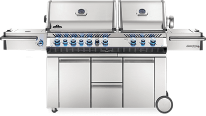 Picture of  Prestige PRO™  825 with Power Side Burner and Infrared Rear & Bottom Burners - Natural Gas