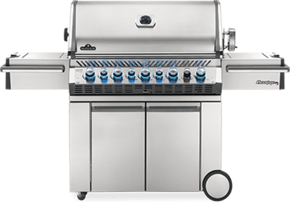Picture of Prestige PRO™  665 with Infrared Read and Side Burners - Propane
