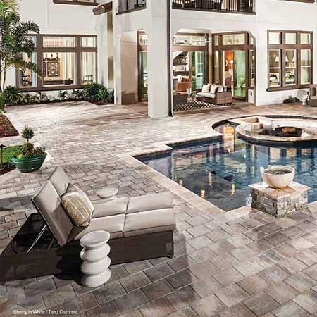 Picture for category FLAGSTONE BRICK PAVERS