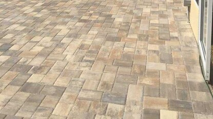 Picture of Union pavers(T-pattern) -Thickness  30mm or 1-3/16""