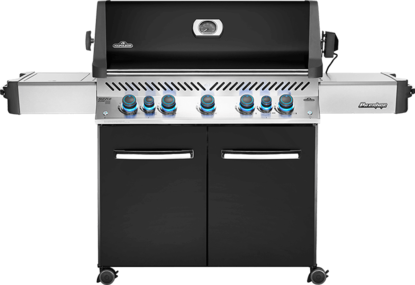 Picture of PRESTIGE® 665 RSIB (Black) with Infrared Read and Side Burners - Natural gas