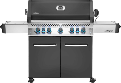 Picture of PRESTIGE® 665 RSIB (Grey) with Infrared Read and Side Burners - Natural gas