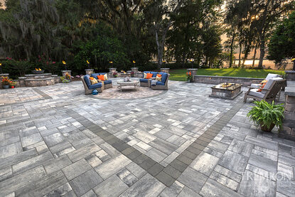 Bluestone Tremron pavers