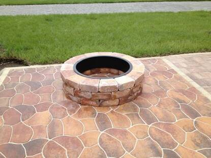 Fire pit Indian Summer
