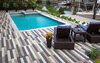 Plank brick for pool deck